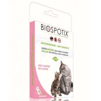 Biospotix - Pipettes répulsives chat/chaton