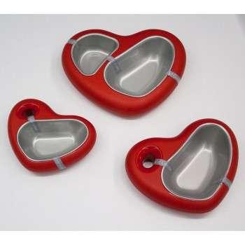gamelle en forme de coeur