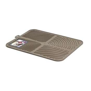 Georplast - Aladdin - tapis anti-poussière pour bac à litière et toilette . 41,5 x 32