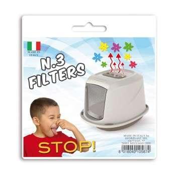 Set 3 filtres toilette Galaxy