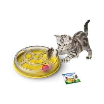 Jouet pour chat avecball Ø 29 x 5 h -