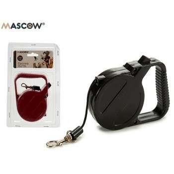 Mascow - Laisse roulante 3m pour chat et chien .