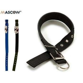 Mascow - collier durable nylon réglable pour chien de taille medium 0.2 x 3 x 61.5 cm.