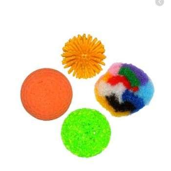 Bubimex Assortiment Balles X 4