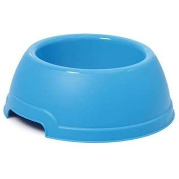 """Georplast - Gamelle pour Chiens """" Lucky """" Rond 25 x9.5x 1.30"""