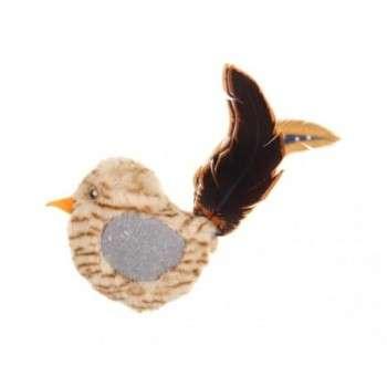 Bubimex Jouet oiseau avec herbe à chat