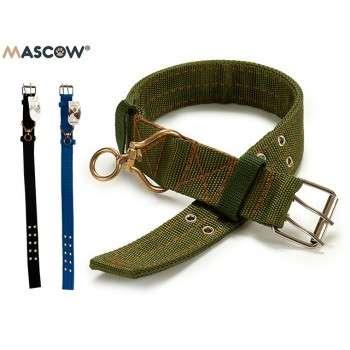 Mascow - collier  durable nylon réglable pour chien de grande taille 0.5 x 5 x 70.5 cm.