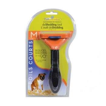 FURminator Outil anti-mue taille M Poils courts pour chien M