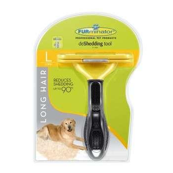 FURminator Outil anti-mue taille L Poils longs pour chien L