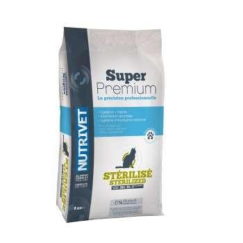 Nutrivet - Super Premium Chat Stérilisé 3.5 Kg
