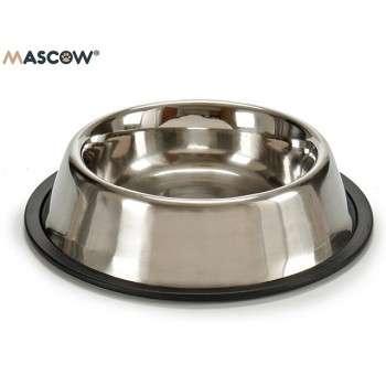 Mascow - gamelle en inox 23cm pour chat et chien.