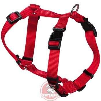 Arppe - Harnais Nylon pour chien rouge