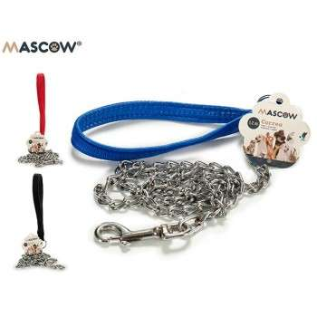 Mascow - laisse chrome 1.2 pour chien de taille medium .