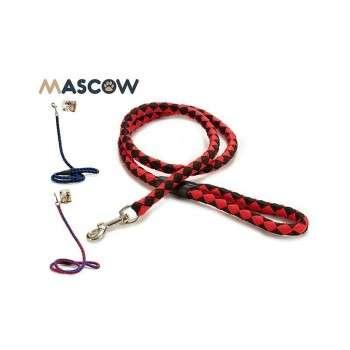 Mascow - laisse en corde tressée pour chien .