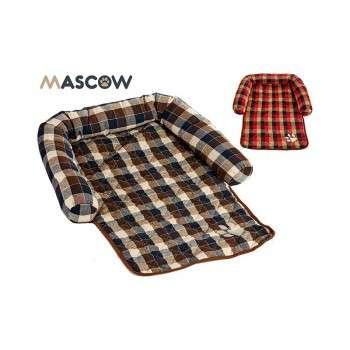 Mascow - matelas avec dos pour chat et chien .