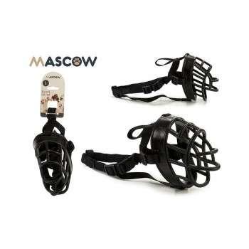 Mascow - muséliere noire pour chien de grande taille.