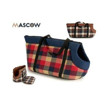 sac de transport mascote carres set 2 c25 x 46 x 25 cm.
