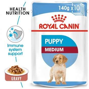Royal Canin - Medium Puppy 140G.