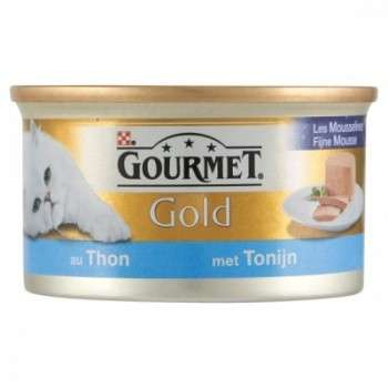 Purina - Gourmet Gold Mousselines Au Thon 85G.