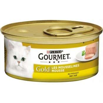 Purina - Gourmet Gold Mousselines Au Poulet 85G