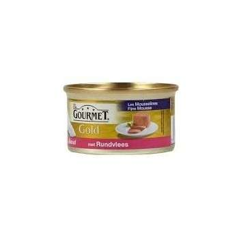 Purina - Gourmet Gold Mousselines Au Boeuf 85G