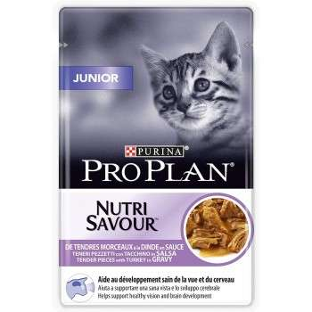 Purina - Pro Plan Nutrisavour Junior Dinde 85G