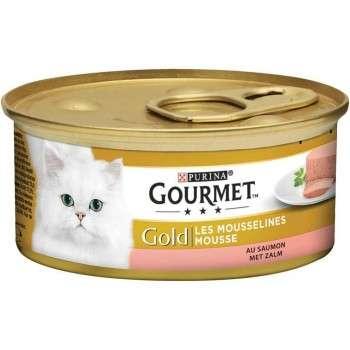 Purina - Gourmet Gold Mousseline Au Saumon 85G