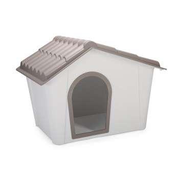 Imac – Maison en  Plastique pour chien 98.5×77.5×72.5cm