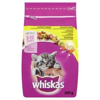 Whiskas Junior Au Poulet 300G.