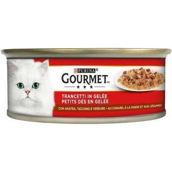 Purina - Gourmet Tm Petits Dés En Gélée Au Canard.