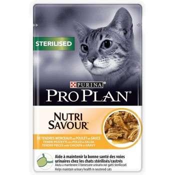 Purina - Pro Plan Nutrisavour Sterilised Poulet 85g