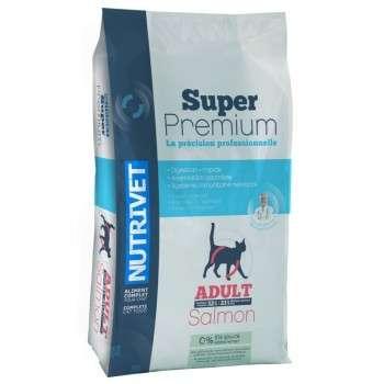 Nutrivet - Super Premium Chat Adulte Au Saumon 3.