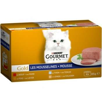 Purina - Gourmet Gold Mousseline 4*85G