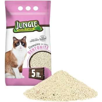 Jungle - litiére nature babypowder 0.6-2.25mm 5L.