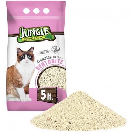 Jungle - litiére nature babypowder 0.6-2.25mm 5L.