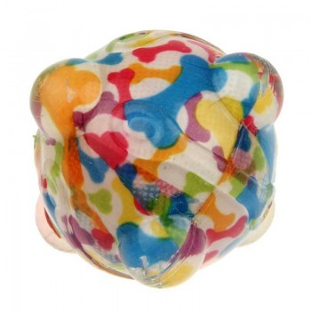 Bubimex Balle En Tpr. Multicolore