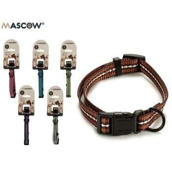 Mascow - collier réglable avec des rayures pour chiot et chien de petite taille 2 x 15 x 1.5 cm .