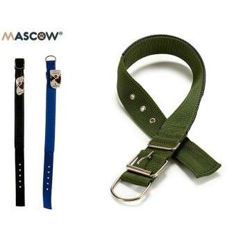 Mascow - collier durable nylon réglable pour chien de grande taille 0.3 x 4.5 x 69 cm.