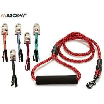Mascow - laisse en corde de nylon résistante et solide 1.2m pour chien de taille medium .