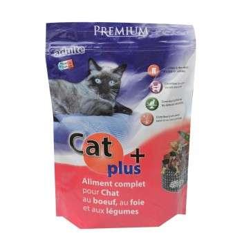 CAT+ POULET LEGUMES 450G.